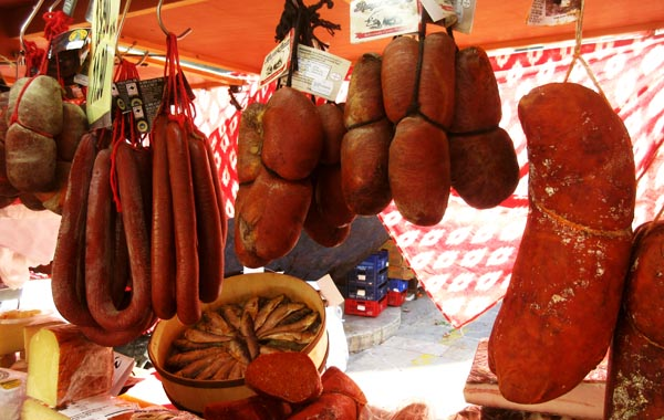 マヨルカ島の伝統食品ソブラサダ